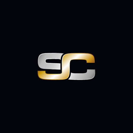 SC company linked letter logo