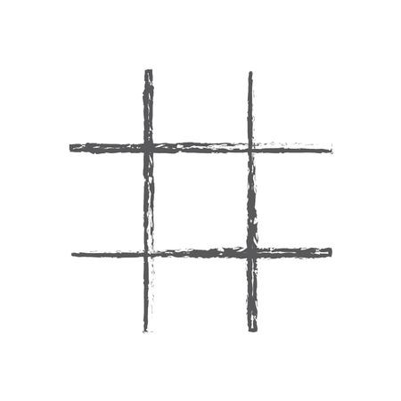 The prison bars icon. Grid symbol. Flat Vector