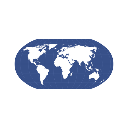 Glossy World Globe
