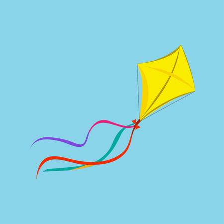 Kite Icon. Vector Illustration EPS10  イラスト・ベクター素材