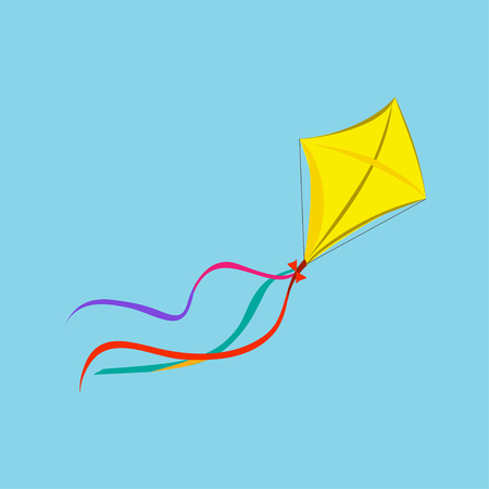 Kite Icon. Vector Illustration EPS10