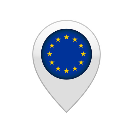 map pin of EU Illustration