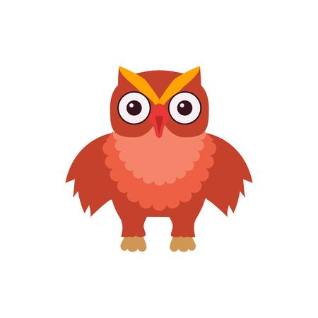Owl vector illustration Иллюстрация