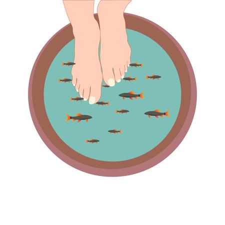 garra rufa fish feet treatment