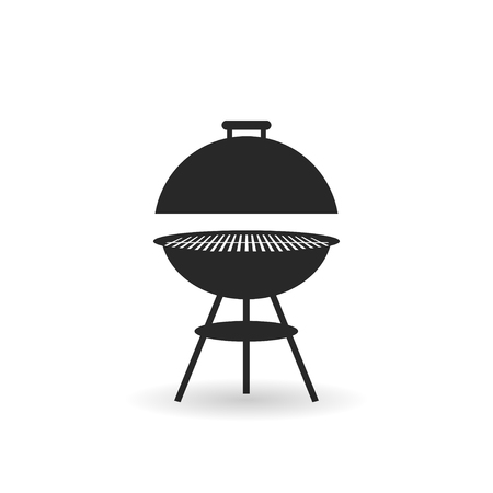 Barbecue BBQ Time Vintage Graphic Standard-Bild - 120067385
