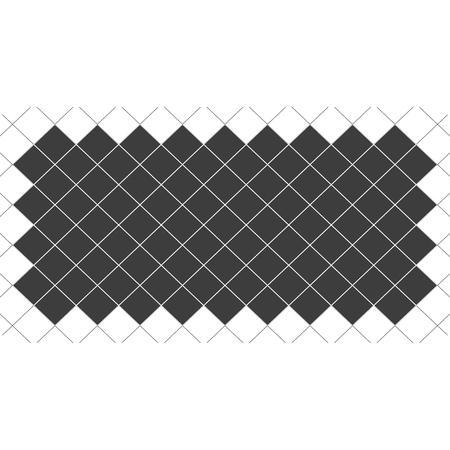 Houndstooth seamless pattern black and white, vector. Standard-Bild - 124561828
