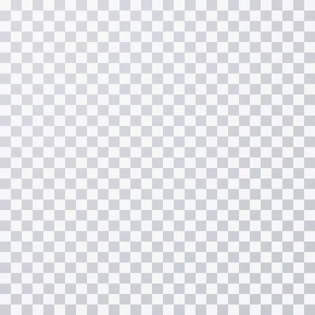 Transparenter Photoshop-Hintergrund. Transparentes Gitter. Vektorgrafik