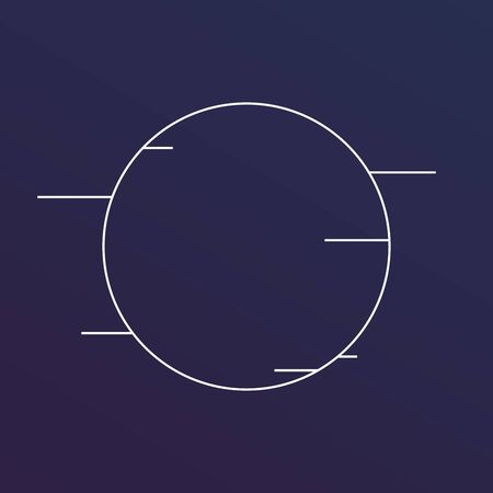 Vector round Frames. circle for image. distress texture . Grunge oval. Фото со стока - 129792429