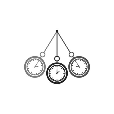Hypnosis vector icon on white background.