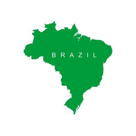 Brazil map. Background for your presentations. Vector illustration  イラスト・ベクター素材