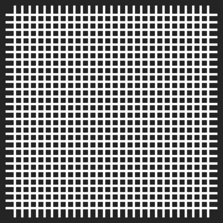 The pattern of the curves of scattered squares on white background.  イラスト・ベクター素材