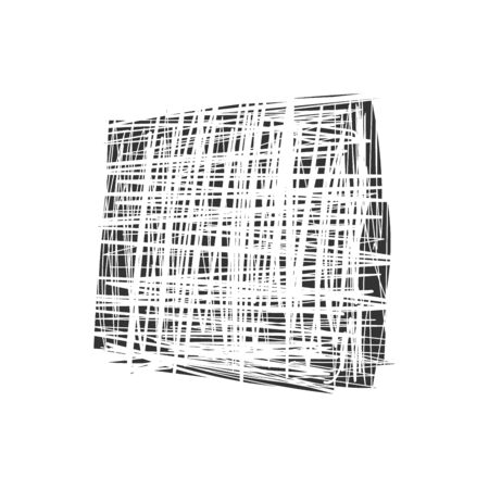 Grunge white and black wall background. Vector illustration 向量圖像