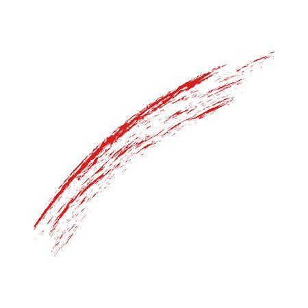 red brush strokes - backdrop for your text. vector 向量圖像