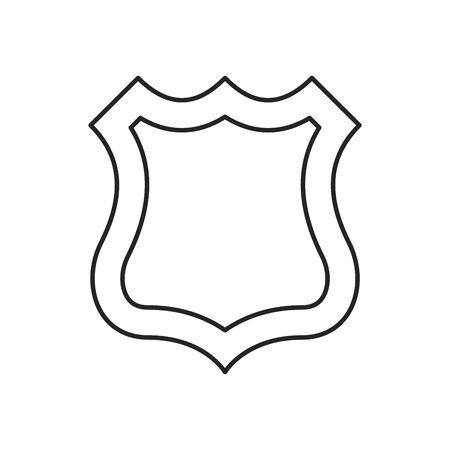 Vector shield icon. Security vector icon. Protection icon. Shield vector icon. 向量圖像