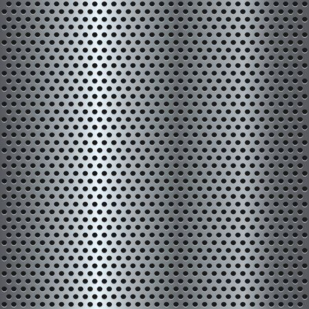 Technology background with seamless circle perforated carbon speaker grill texture for internet sites,