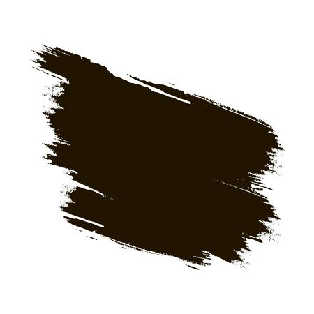Hand-painted brush strokes. Vector illustration 向量圖像