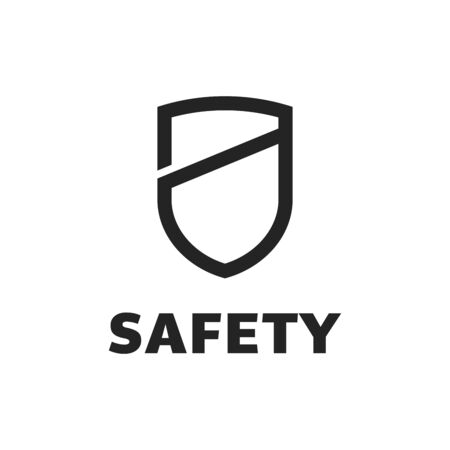 Shield Icon in trendy style isolated on white background. Shield symbol for your web site design, logo, app, UI. Vector illustration, EPS10. 向量圖像