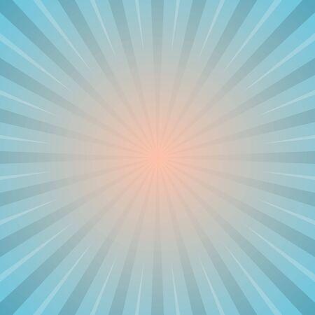 sun with rays star burst television vintage background stock vector illustration