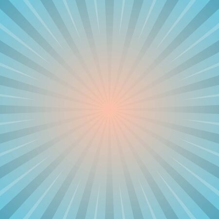 sun with rays star burst television vintage background stock vector illustration Çizim