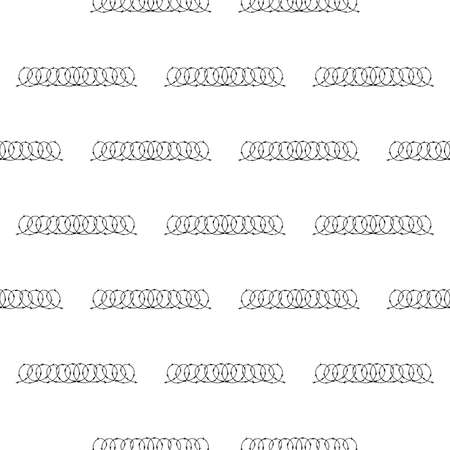 barbed wire Vector Icon Illustration on white background. Trendy Icon seamless pattern background