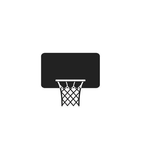 Basketball icon, flat vector illustration. Vector illustration 向量圖像