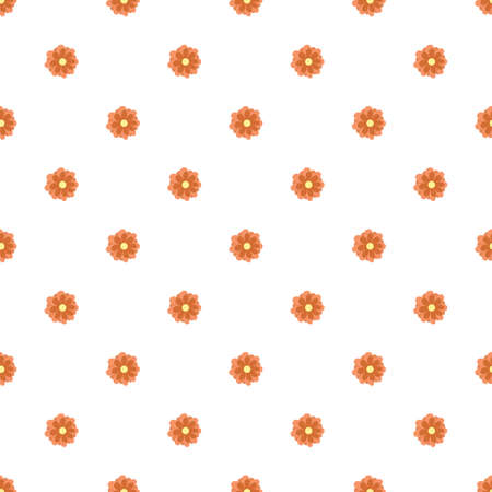 flower seamless pattern on white background.home decor textile and wallpaper. Vector Illustration 向量圖像