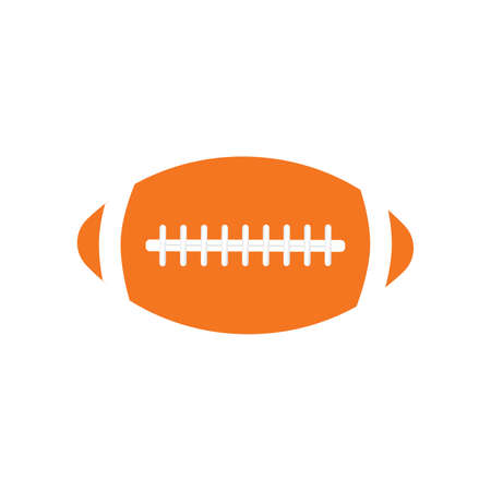 American football logo vintage label vector badge. Vector illustration 向量圖像