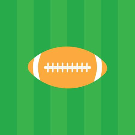 American football logo vintage label vector badge. Vector illustration Çizim
