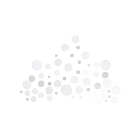 water drops. Glass sphere, isolated rain elements. Liquid blobs vector illustration on white background. Çizim