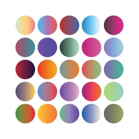 color background design. Creative Gradient set for greeting card, flyer, invitation, poster, brochure, banner vector illustration.