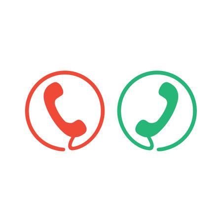 phone logo symbol icon simple minimalist flat style