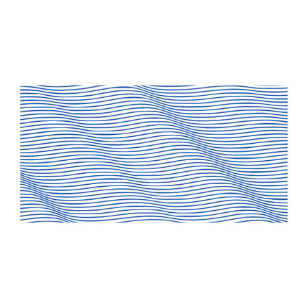 Abstract Vector Background of Waves, Line Stripes Wave Background, Abstract Design. Vector illustration