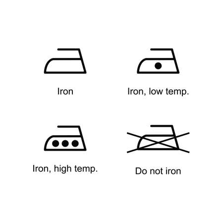 iron icon set or isolated sign symbol vector illustration - high quality black style vector icons 向量圖像