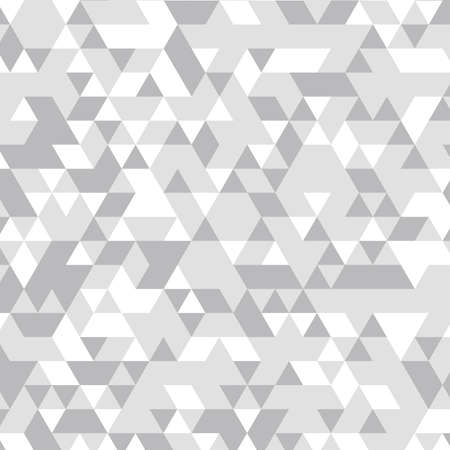 geometric background. Triangles Geometric mosaic, gray triangles, application in origami style. Abstract background. Vector illustration