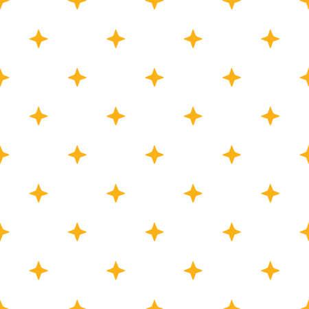 Light Yellow Seamless Stars Background Pattern Illustration. Vector illustration