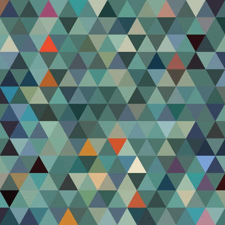 Dark blue vector triangle mosaic background. Glitter abstract illustration design. Brand-new style for your business design. Vector illustration