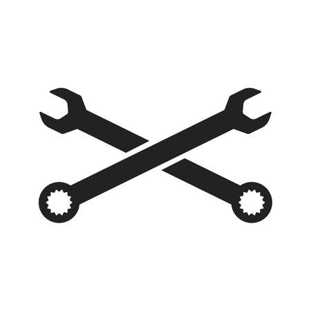 Repair Service Icon. Flat Design Isolated Illustration. Ilustracja