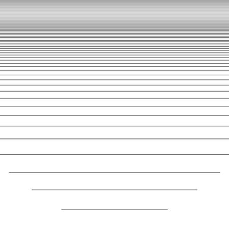 White horizontal striped seamless pattern background suitable for fashion textiles, graphics Ilustracja