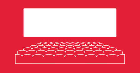 Theater icon vector. Symbol for your web site