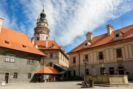 Cesky Krumlov Castle, Czech Republic Redakční