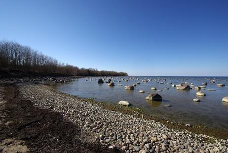 baltic: Coast of Baltic sea in Estonia.Estonian nature.