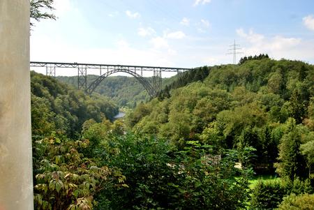 at the highest: Munich Railway bridge.the highest bridge in Germany