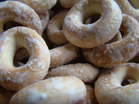 traditionally: Bagels bakery product made of the test,traditionally Russian cuisine.