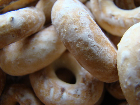 traditionally russian: Bagels bakery product made of the test,traditionally Russian cuisine.