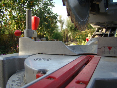 clean cut: disk compound miter saw electric household semi-professional