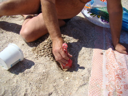 inventing: build a sand creativity on different topics