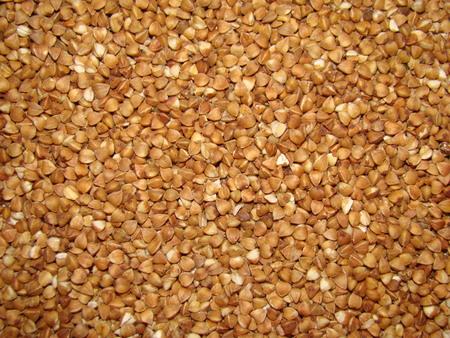 kasha: buckwheat unground many closeup