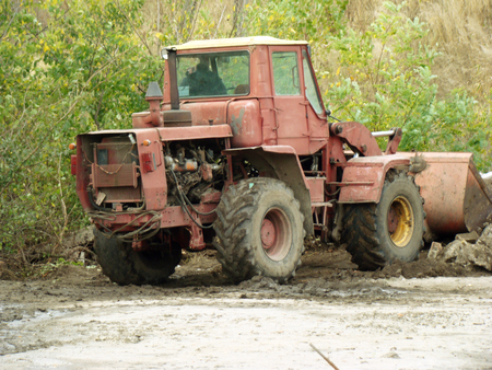 tractor-a powerful modern agricultural machinery