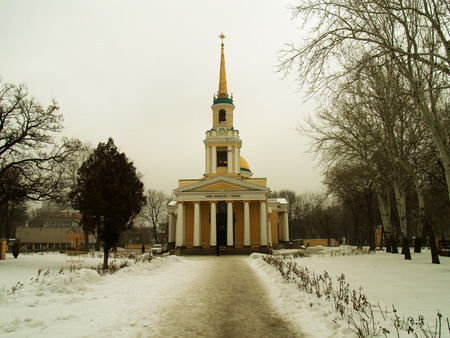 freemasonry: Church of the Transfiguration of Christ in Dnepropetrovsk
