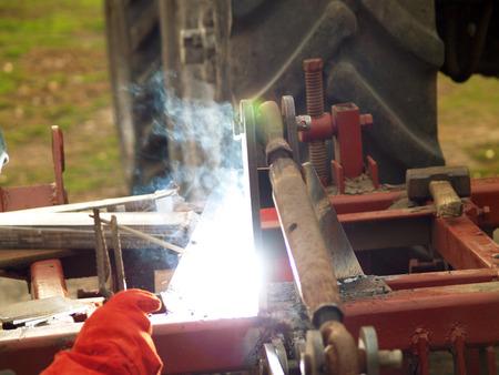 use of electro arc welding